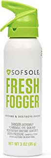 Sof Sole Fresh Fogger Shoe, Gym Bag, and Locker Deodorizer Spray