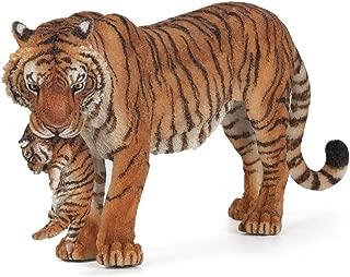 Papo Wild Animal Kingdom Figure, Tigress with Cub