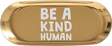 "Teacher 7"" Ring Holder Dish Jewelry Tray - Be A Kind Human Teacher Kindness Math School Anti Bully Kitchen Home Decor Key"