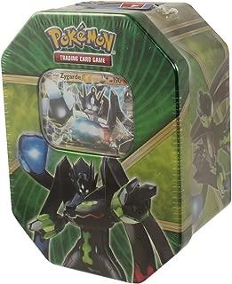 Pokemon Shiny Kalos Tin Zygarde EX