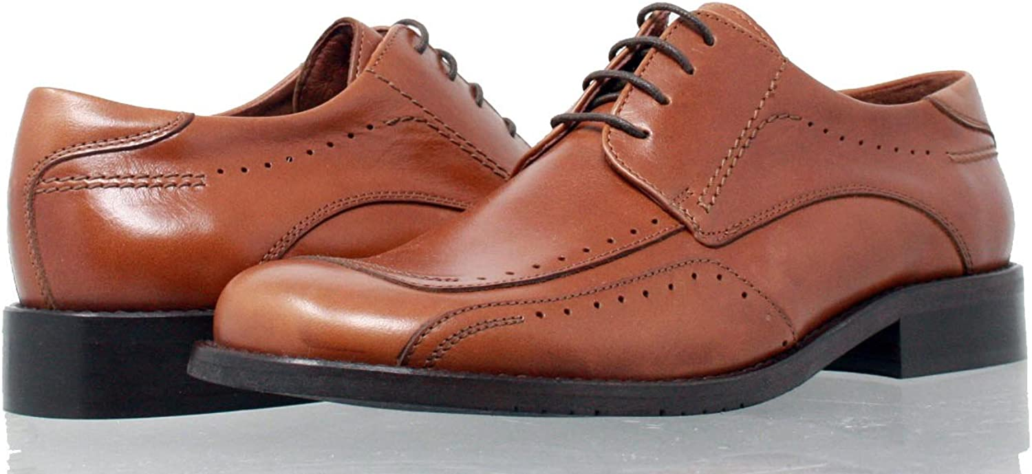 PORTMANN MORGAN Classic Men's Derbys   Full grain leather