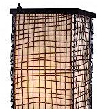 Kenroy Home 32250BRZ Trellis Outdoor Floor Lamp, Bronze