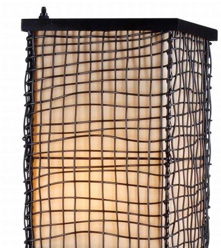 Kenroy Home 32250BRZ Trellis Outdoor Floor Lamp, Bronze Finish, 51