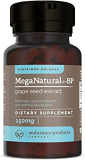 Meganatural-BP Grape Seed Extract Sustained Release Tablets, 120 Count