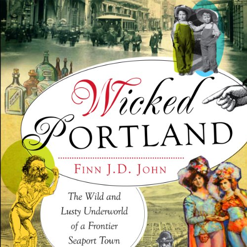 Wicked Portland audiobook cover art