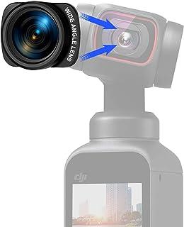 INSOMOV DJI Pocket 2 OSMO Pocket用広角レンズ磁気レンズ,DJI Osmo Pocket 専用設計の100度ワイドコンバージョンレンズ 取り付けるだけで画角レンズがワイド