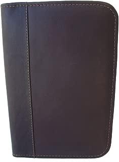 Piel Leather Junior Padfolio, Chocolate, One Size