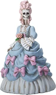 YTC 6.5 Inch Marie Skelantoinette Queen of France Statue Figurine, Blue