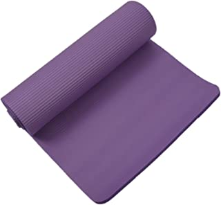 Romica Yoga Mat 15mm Thick Exercise Fitness Physio Pilates Workout Mat Non Slip Colour:Purple
