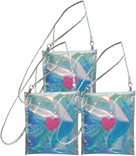 Cabilock 3 قطع شفافة كروسبودي حقيبة رسول شفافة حقيبة الكتف للعمل السفر رجال النساء