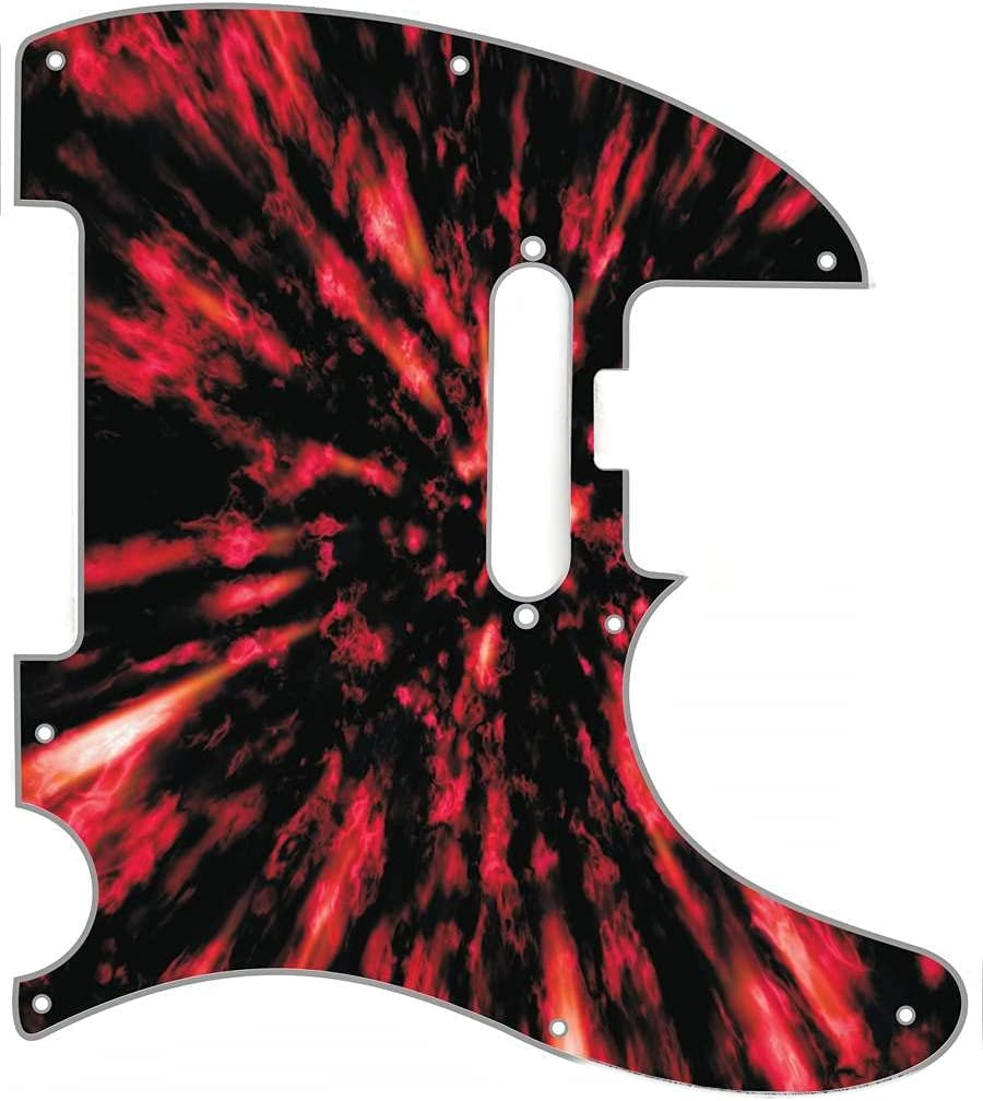 Custom Graphical Pickguard to fit Al sold out. Telecaster Max 50% OFF Fender Tele AMERICA