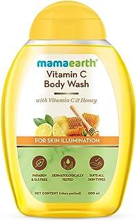Mamaearth Vitamin C Body Wash with Vitamin C & Honey, Shower Gel for Skin Illumination - 300ml