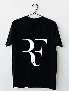 RF Logo Roger Federer Perfect Tennis Cotton short sleeve T shirt, Hoodie for Men Women Unisex