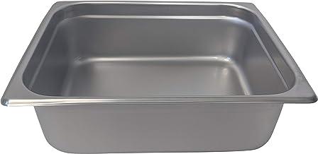 "Update International (NJP-504) 4"" Half-Size Anti-Jam Steam Table Pan"
