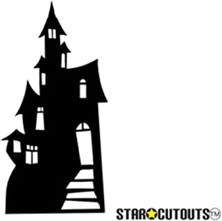 SC51 Haunted House (Silhouette) Cardboard Cutout Standup