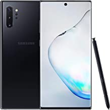 Samsung Galaxy Note 10+ Plus (5G) Single-SIM SM-N976B 512GB (GSM Only, No CDMA) Factory Unlocked 5G Smartphone - International Version (Aura Black)