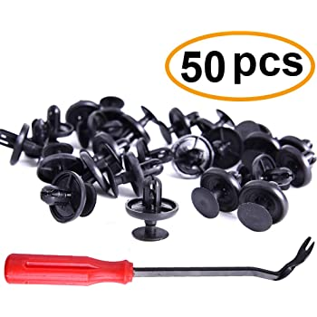 50Pcs Lexus Toyota Clips and One Plastic Fastener Remover - Stronger Than Original OEM