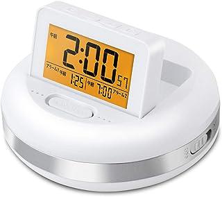目覚まし時計 振動式 バイブレーション デジタル 振動アラームクロック ブルブル・クラッシュ ADESSO(アデッソ) 非売品ステッカー付属