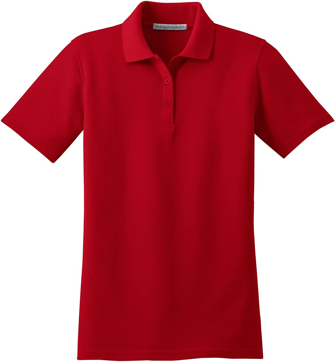 Port Authority Ladies Stain-Resistant Sport Shirt - Red L510 4XL