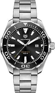 Aquaracer 300M Quartz Black Dial Mens Watch WAY101A.BA0746