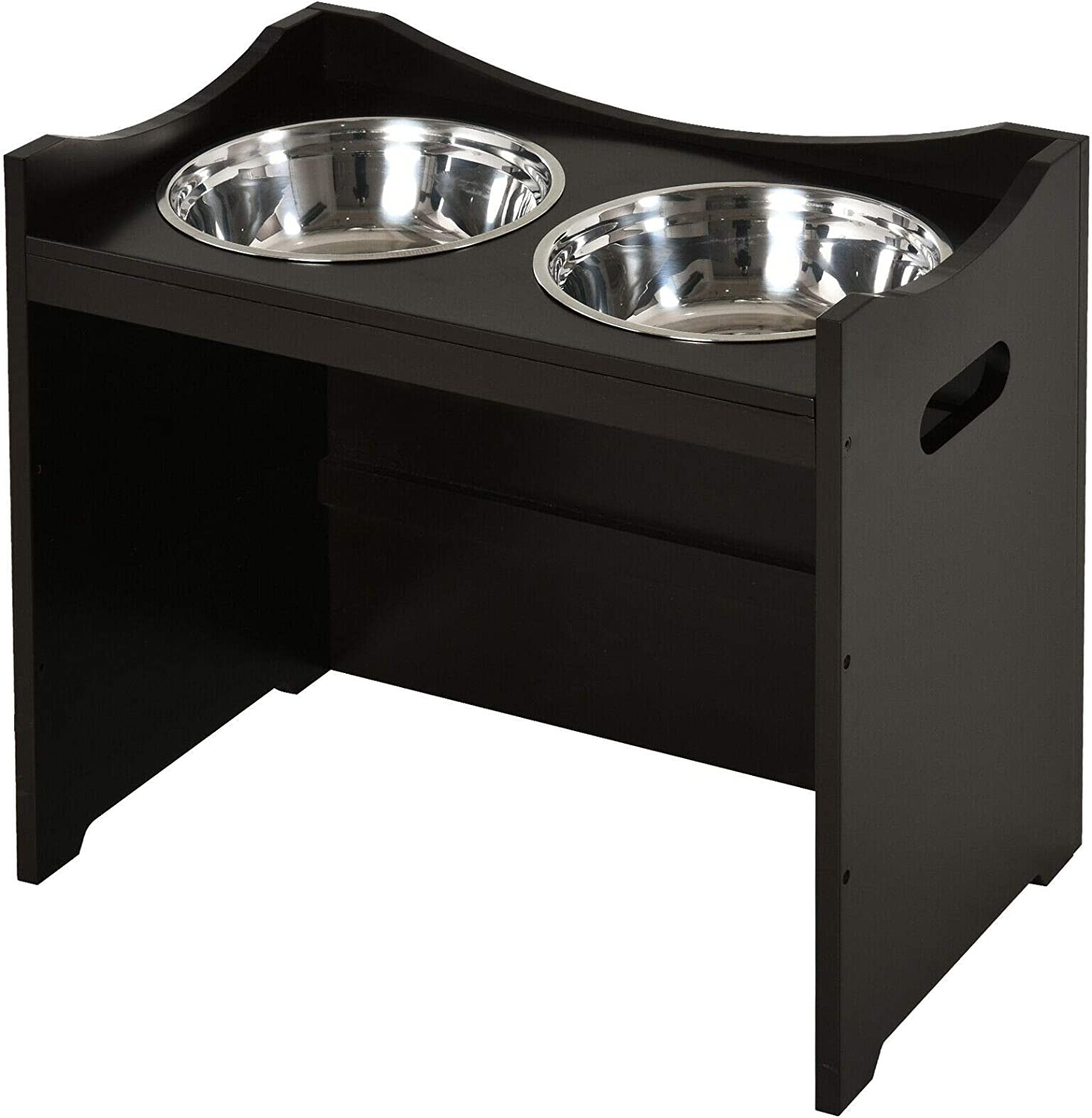 Compatible with Sales Raised Elevated Pet Bowl Steel Bowls Stainless Max 49% OFF A