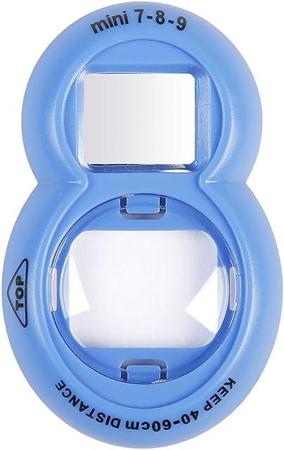 Anter Close Up Lente con Instax Lente Selfie para Fujifilm Instax Mini 9 Mini 8 Mini 8+ Mini 7s Cámara de película instantánea (Cobalt Blue B)