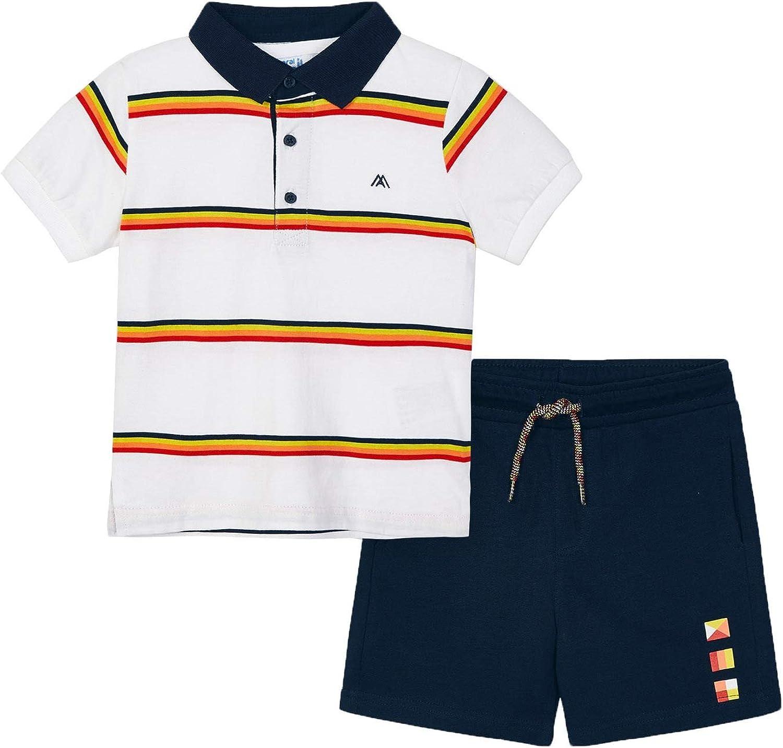 Mayoral - Polo Phoenix Mall Short Set Boys navu 3640 for Japan's largest assortment