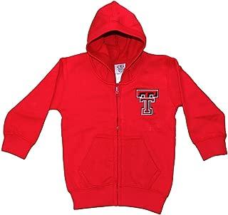 Officially Licensed NCAA Full Zip Hoodie Fleece, Infant- Toddler