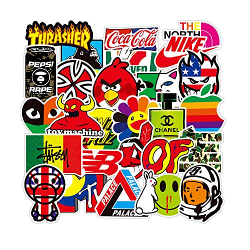 DIWSO Aufkleber Decals,Graffiti Sticker Decals Vinyls für Laptop,Wasserflaschen,Gepäck,Skateboard,PS4,Xbox One,Phone,Car Erwachsene,Teenager Sticker Pack(Sticker 101)