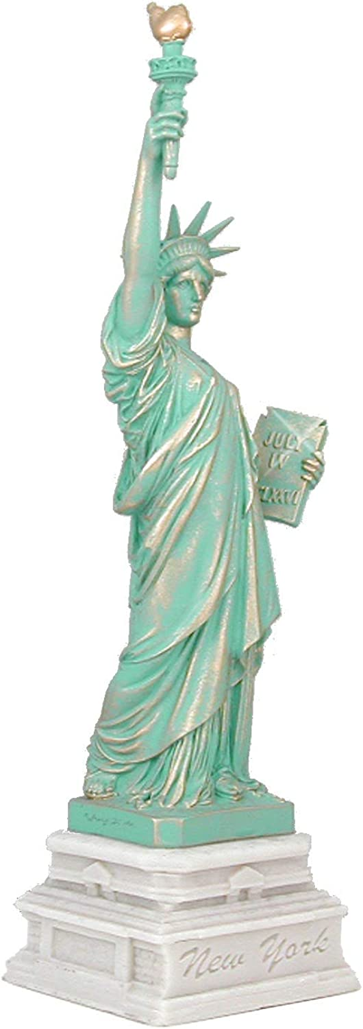 City-Souvenirs 125th Anniversary Statue of Liberty (Liberty Ellis Island Foundation), 14.5 Inches Tall