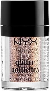NYX PROFESSIONAL MAKEUP Metallic Glitter, Goldstone, 0.08 Ounce