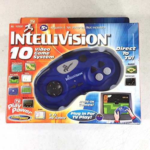 Intellivision 10 Game Video Game System