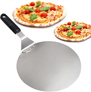 Pala Pizza - Paddle Round Cake Pala Herramientas para hornear Grip Handle Deal para hornear en Pizza Stone Oven & Grill