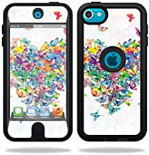 MightySkins Skin Compatible with OtterBox Defender iPod Touch 5G Case – Wildheart   Protective, Durable, and Unique Vinyl Decal wrap Cover   Easy to Apply, Remove, and Change Styles   Made in The USA