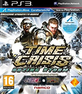 Time Crisis Razing Storm (Move Compatible) Game PS3