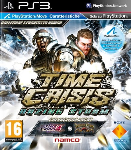 Time Crisis Razing Storm - Move Compatible (PS3) [Importación inglesa]