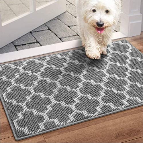 WiseLife Door Mat Indoor Outdoor Floor Mat 20 x32 Non Slip Absorbent Front Back Doormat Entryway product image