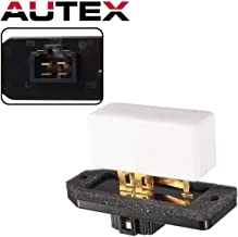 AUTEX Manual Blower Motor Resistor RU368, 5014212AA, RU1061 CR160 Replacement for Dodge Viper 2003-2010 Compatible with Jeep Grand Cherokee 2000-2004
