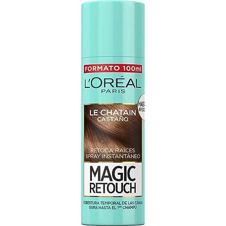 LOreal Paris Magic Retouch Spray Retoca Raíces Castaño 100 ml