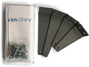 Vancillary DIY Sprinter Van Headliner Shelf Kit - Upfitting Components for DIY Van conversions (Fits Mercedes Sprinter High Roof 2007-2018 Model Year)