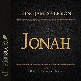 Holy Bible in Audio - King James Version: Jonah audiobook cover art