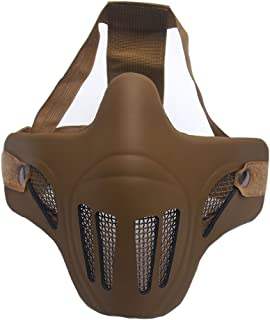 Best skull half face mask airsoft Reviews