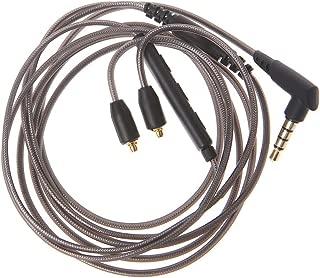 MIAYAYA MMCX Stecker 3,5 mm MMCX Kabel f/ür WESTONE W10 UM PRO10 Logitech UE900 Shure SE215 MMCX Buchse mit Mikrofon Lautst/ärkeregler f/ür Apple Android iOS