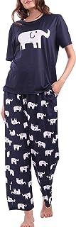Diarylook Cute Ladies Pyjamas Set Print, 2 Piece Womens Pyjama Sets Nightwear, Soft Pjs for Ladies XS-XXL, 6-28