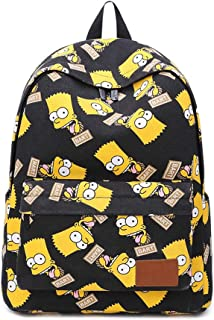bart simpson backpack