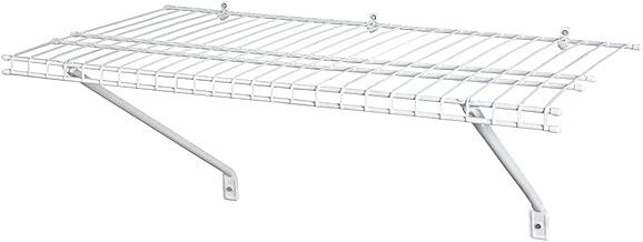 ClosetMaid 1021 Wire Shelf Kit, 2-Feet X 12-Inch, White