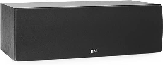 ELAC Debut 2.0 C6.2 Center Speaker, Black
