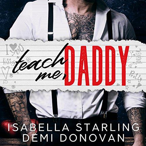 Teach Me Daddy audiobook cover art