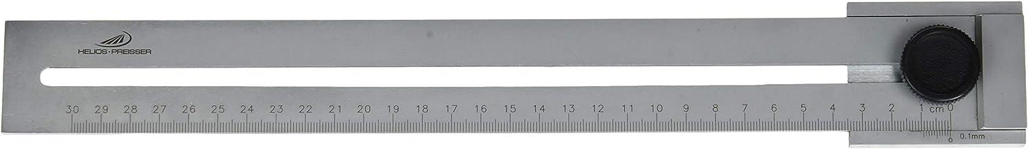 Helios-Preisser Flaches Streichmaß mit gehärteter Anreißkante, 300 mm, 0321303