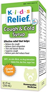 Kids Relief Cough & Cold Syrup, 8.5 Fl. Oz